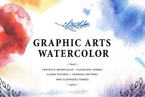 Graphic arts and watercolor