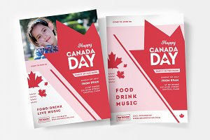 Canada Day Flyer / Poster Templates
