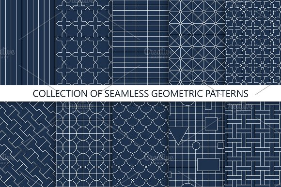Simple Seamless Geometric Patterns
