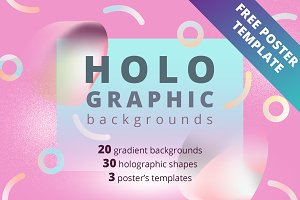 Holographic backgrounds and shapes