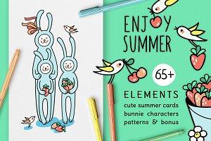 ENJOY SUMMER | DESIGN SET