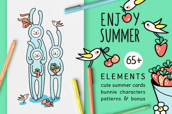 ENJOY SUMMER DESIGN SET