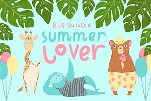 Summer lover - big bundle