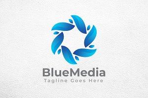 Blue Media Logo