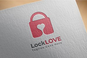 Lock Love Logo