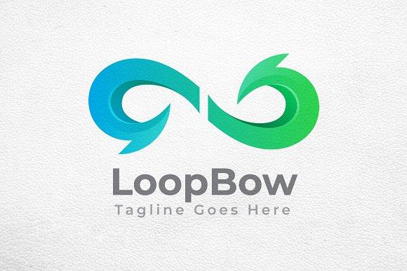 Infinity Loop Bow Arrow