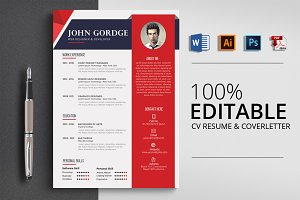 MS Word CV Resume Template
