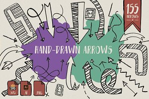 Hand Drawn Arrows Collections