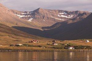 North Iceland Seacoast Landscape