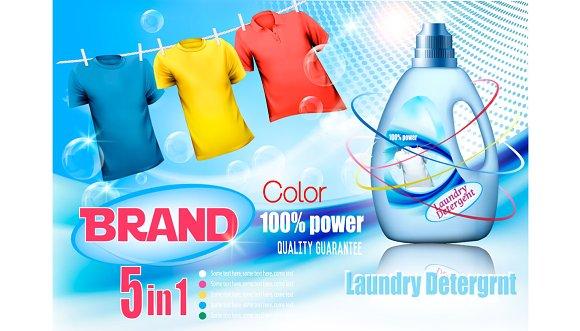 Laundry Detergent Ad