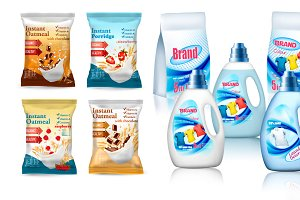 Laundry detergent package design