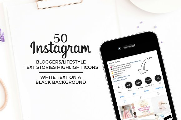 BLOGGER LIFESTYLE Instagram Icons