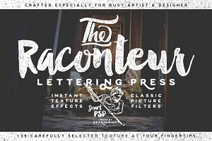 Raconteur Lettering Press