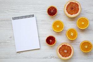 Citrus fruits (orange, grapefruit