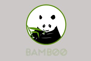 Panda Logos, Cute and Cool