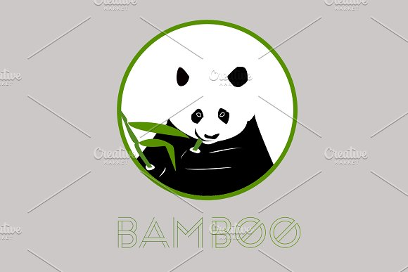 Panda Logos Cute And Cool