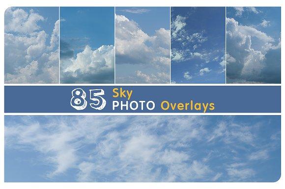 85 Sky Overlays