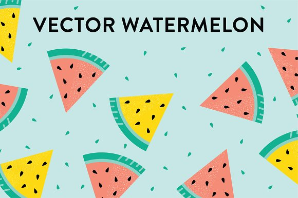 Vector Watermelon Slices