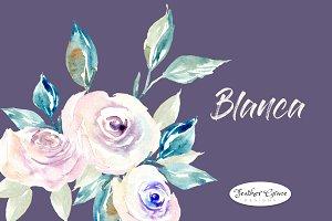 White Flowers & Roses
