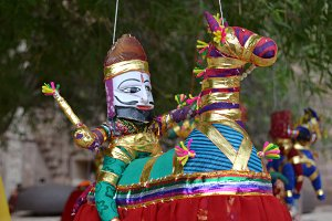Maharaja Puppet of Rajasthan, India