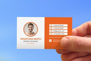 Creative Corporate Business Card-25