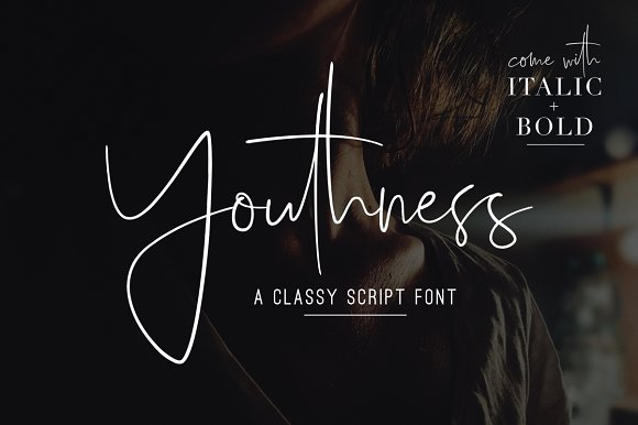 Youthness Family Modern Script