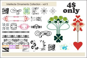 Intellecta Ornaments Collection 5