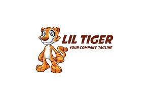 Tiger Cartoon Logo