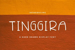 TINGGIIRA FONT BOOK & CHILDISH