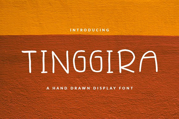 TINGGIIRA FONT BOOK CHILDISH