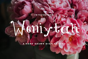WENIYTAH FONT GIRLY & FUN