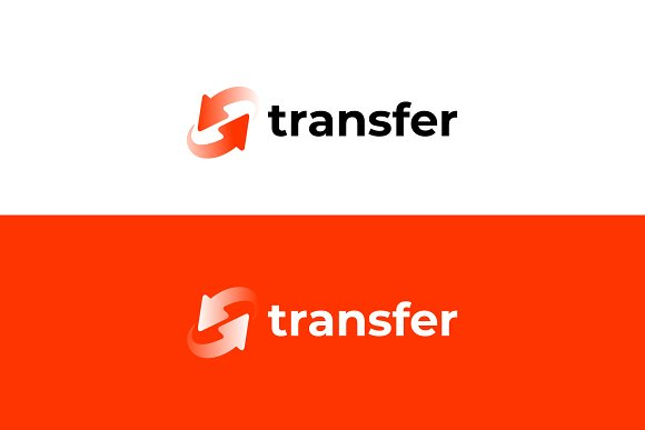 Transfer Logo Template