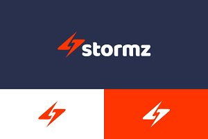Storm Electric Logo Template