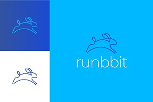 Rabbit Logo Template