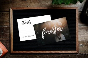 Forever Thank You Card