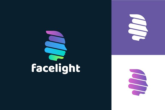Face Logo Template