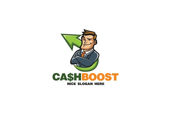 Marketing Mascot Logo