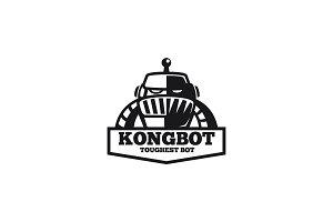 Retro Robot Logo