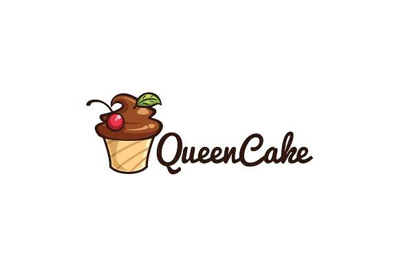 Queen Cake Logo