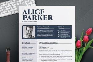 MS Word CV / Resume Template