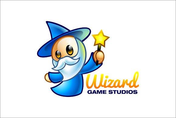 Wizard Game Studio Logo