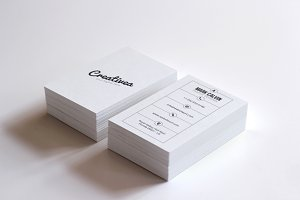 Simple Minimal Business Card 51