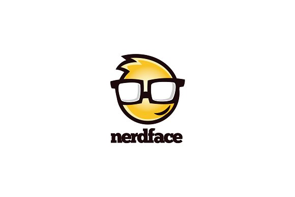 Nerd Face Logo
