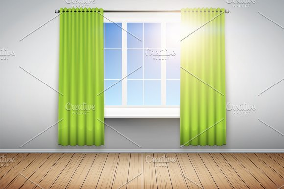 Example Of Empty Room With Window