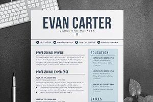 Modern & Professional Resume / CV