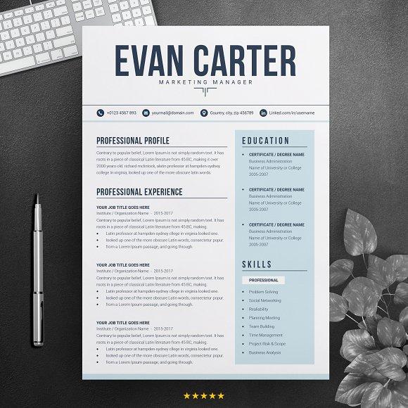 Modern Professional Resume CV