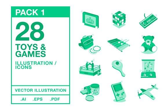 Toys Games Illustration #1