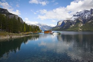 picturesque lake Vermillon