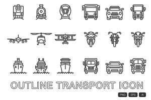 18 Transport Icon