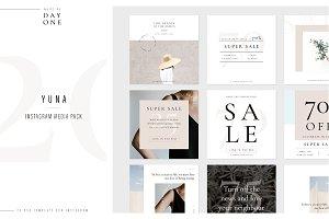 Yuna Social Media Pack